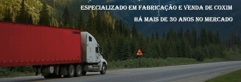Fabricação e venda de coxim para caminhões.